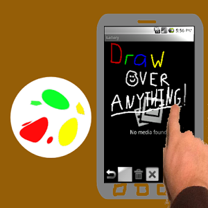 Floating Draw, una app para dibujar sobre la pantalla diferente