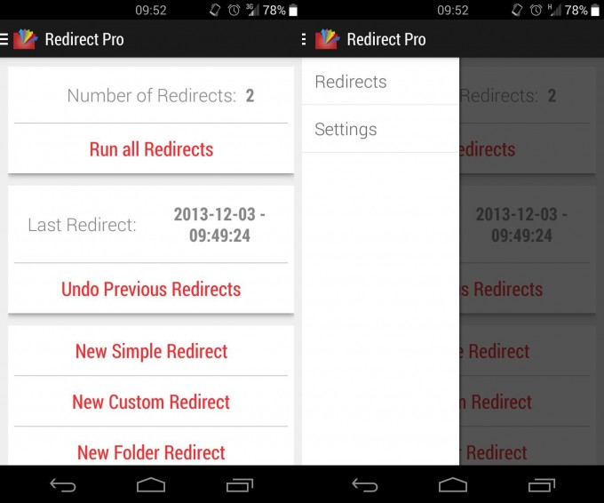 redirect-file-organizer
