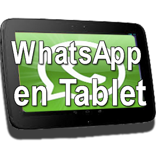 whatsapp tablets