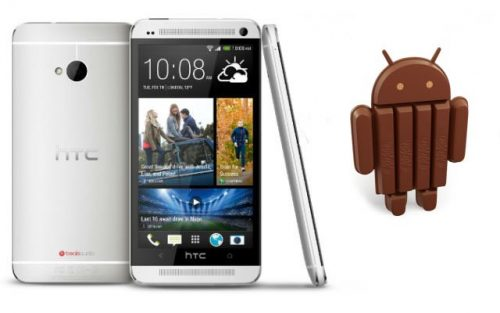 HTC One comienza a recibir Android 4.4.2 KitKat
