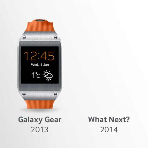 Rumores: un nuevo Galaxy Gear con pantalla flexible para 2014