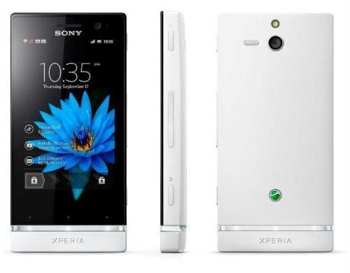 Sony Xperia U, la robusta gama media de Sony