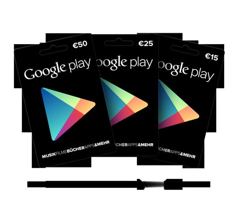 Llegan las tarjetas regalo de Google Play a España, ¿qué podemos comprar con ellas?