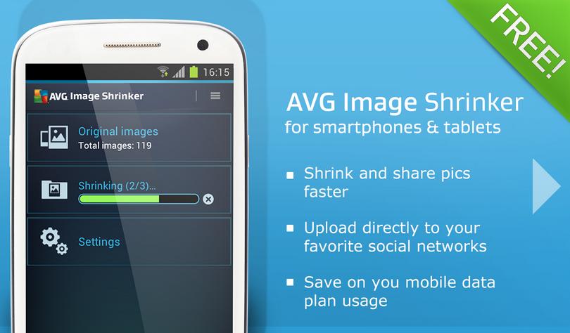 AVG Image shrink share
