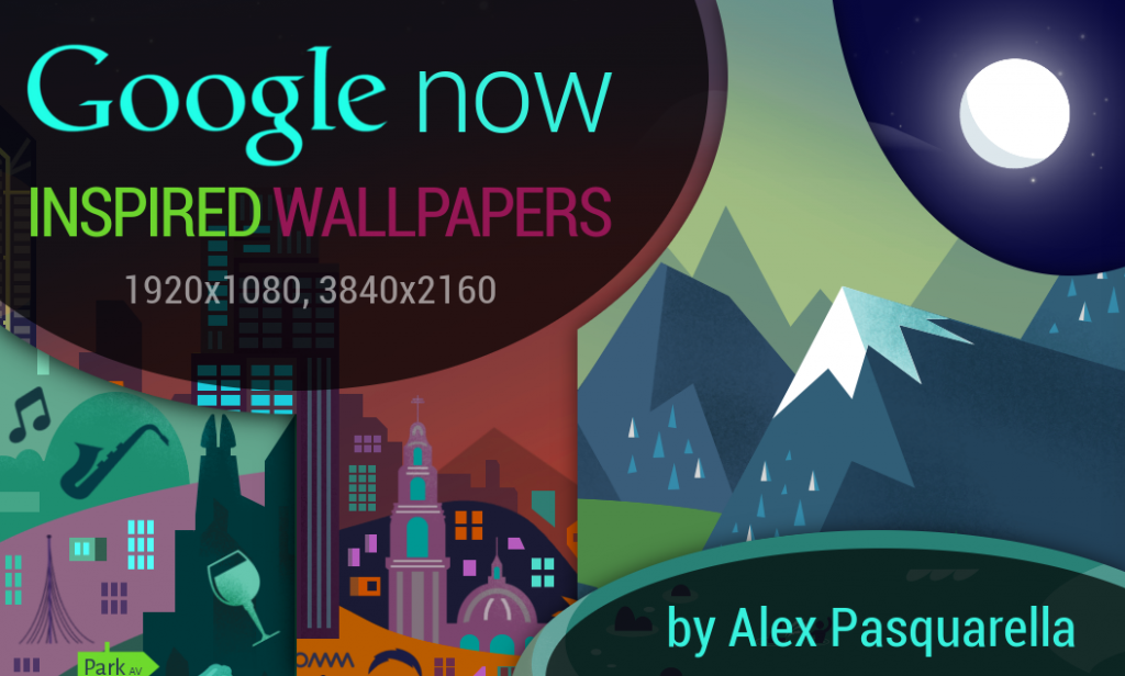google now wallpaper