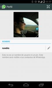 Cómo configurar Foto, Nombre y Estado en WhatsApp para Android2