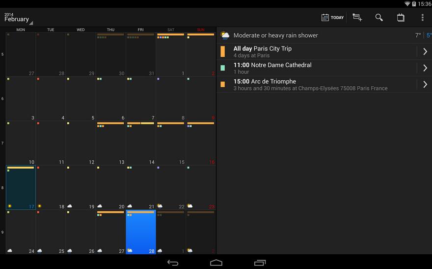 DigiCal Calendario gestiona tu día a día con esta agenda