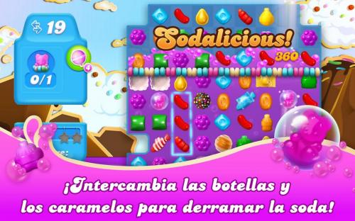 Diviértete con Candy Crush Soda Saga para Android