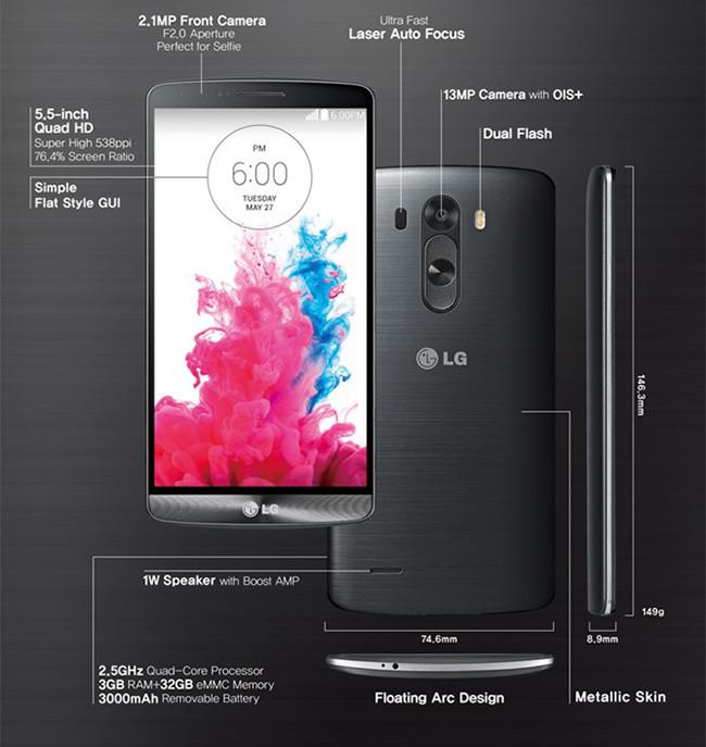 LG G3 b