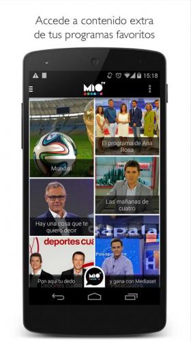 La mejor televisión con Mio TV para Android