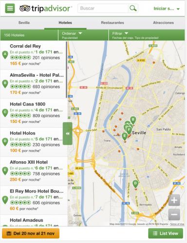 Viaja acompañado de TripAdvisor en tu Android