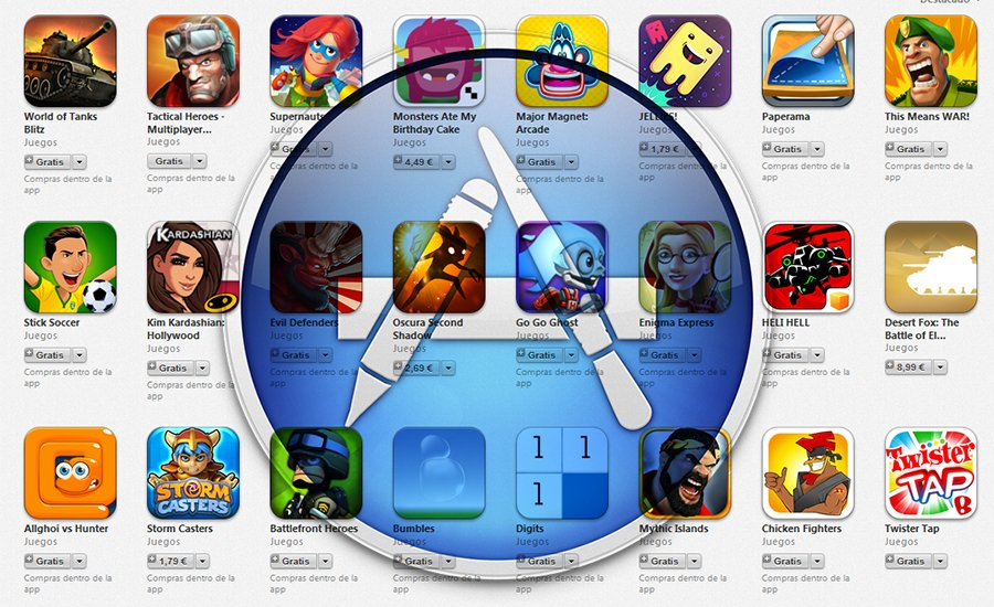 nueva seccion app store actualizacion mejores juegos