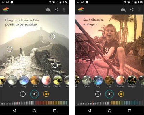 Shift, la mejor alternativa a los filtros de Instagram