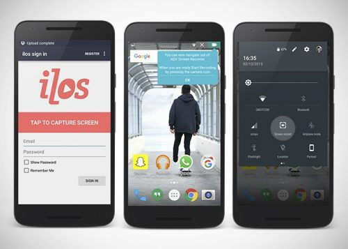 Las 4 mejores aplicaciones para grabar la pantalla de tu móvil Android sin ser root.