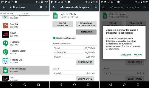 Ajustes de Google, como configurar tus aplicaciones