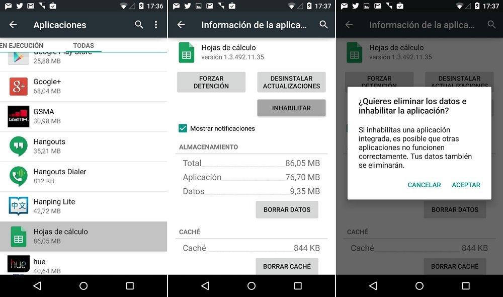 Ajustes de Google como configurar tus aplicaciones2