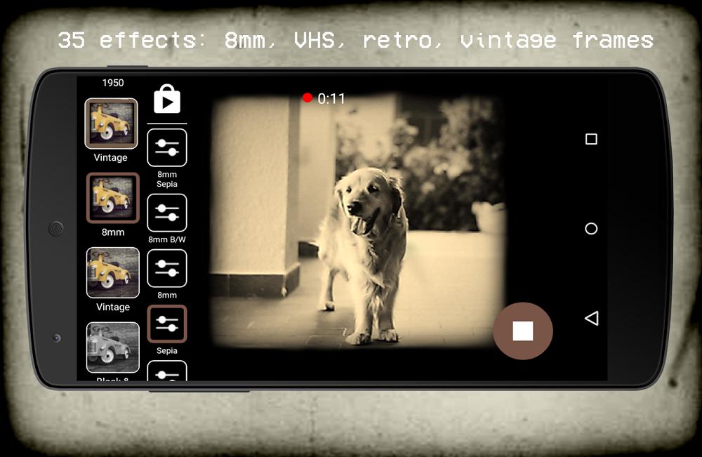 Retro vintage cámara antigua