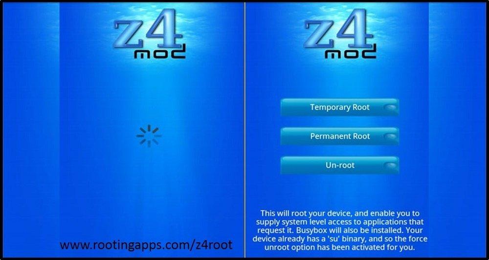 z4root para Android una nueva manera de ser root