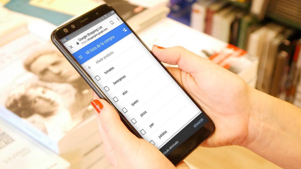 Aplicaciones para hacer la lista de la compra desde Android