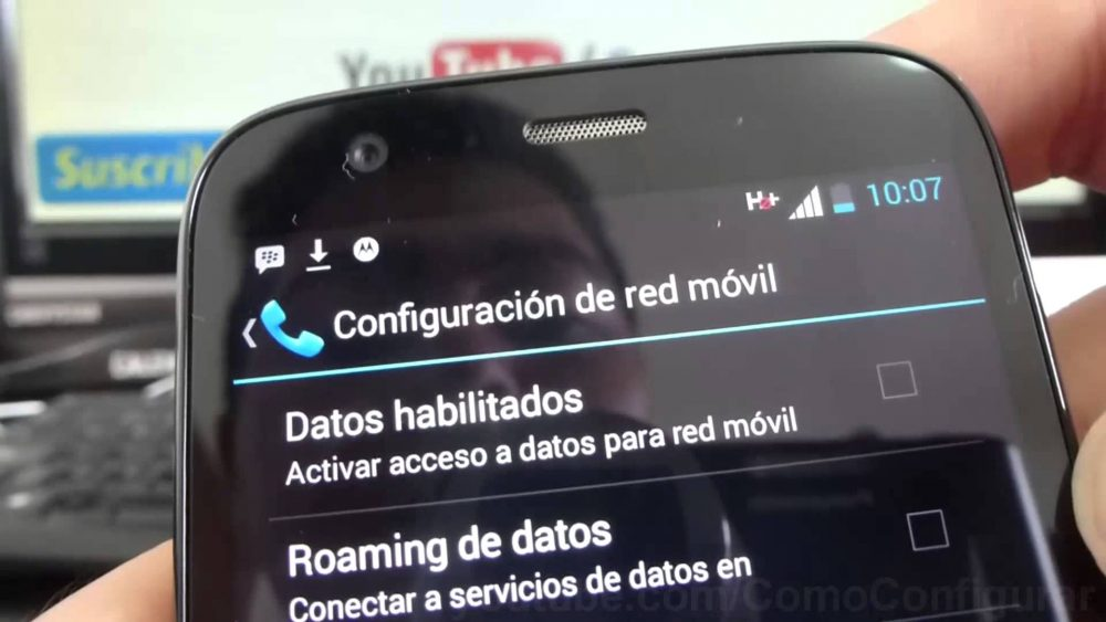 Cómo activar y desactivar la itinerancia de datos desde Android