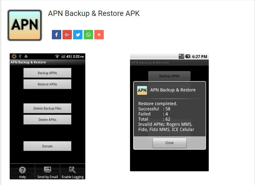 Cómo configurar las APN de tu Android