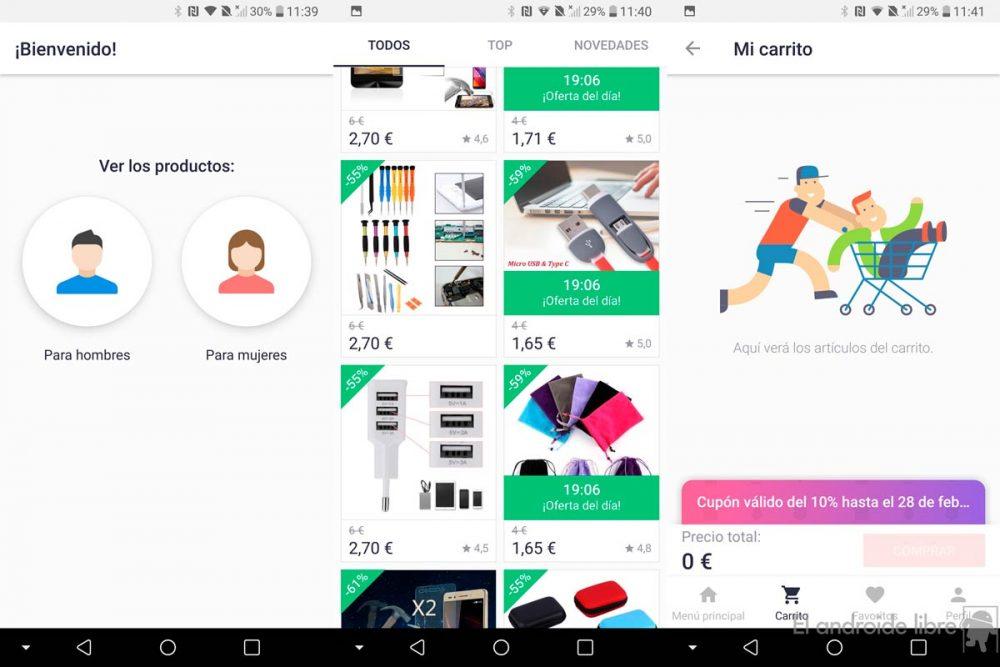 Joom, una app para comprar moda desde tu Android