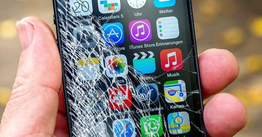 Las averías más comunes: roturas de pantalla