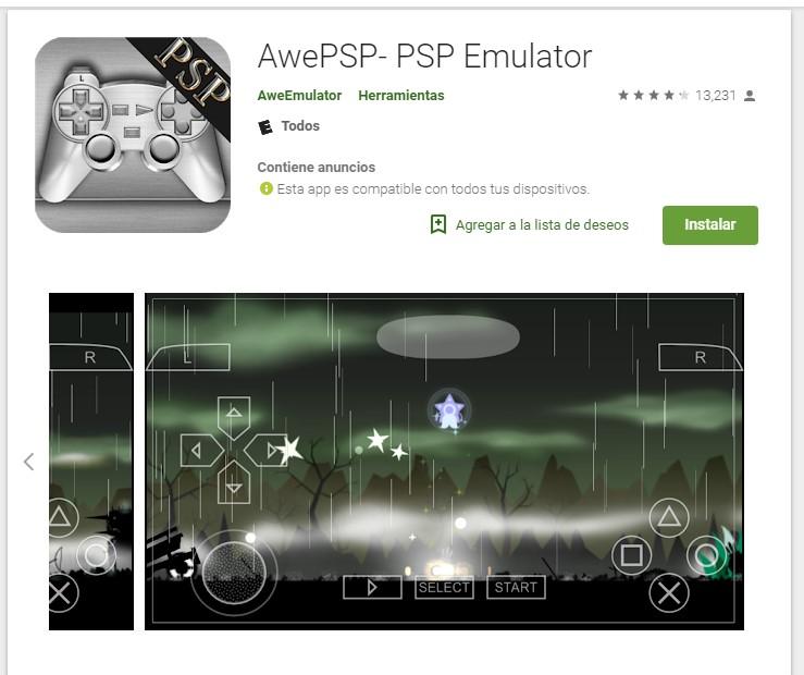 Top mejores emuladores de PSP para Android