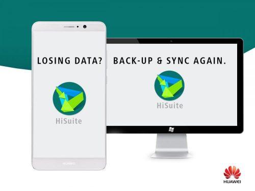 Usar Hisuite para sincronizar teléfonos Huawei con ordenador