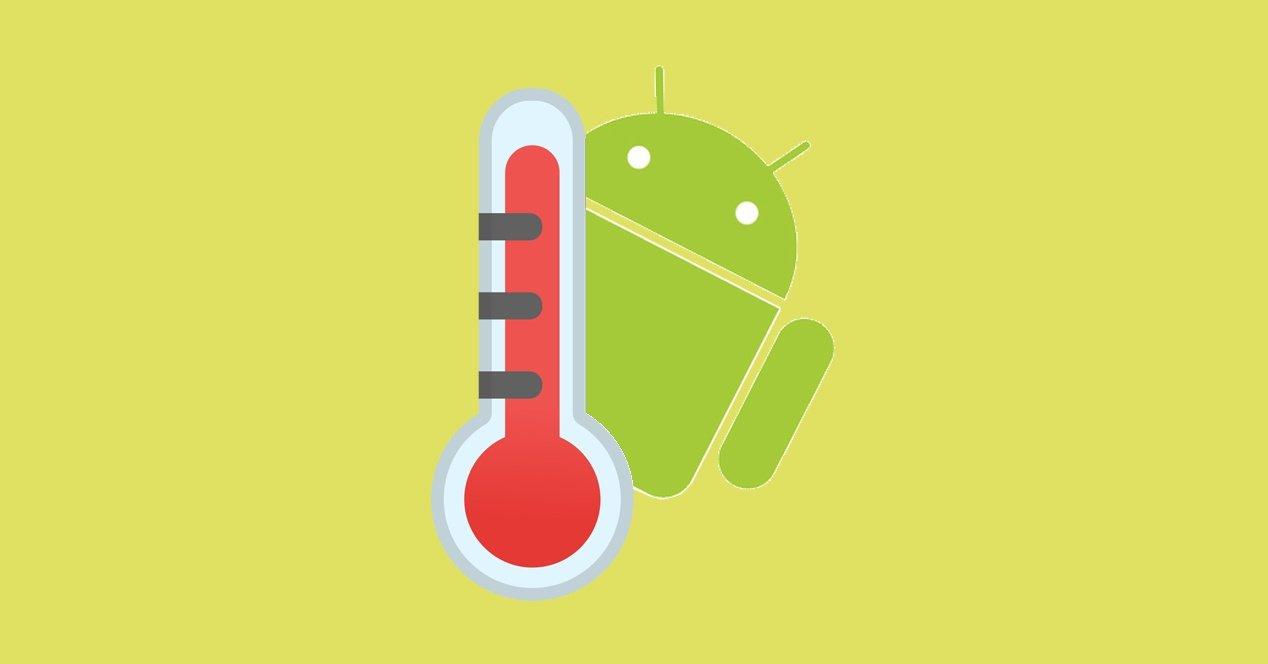 android termometro