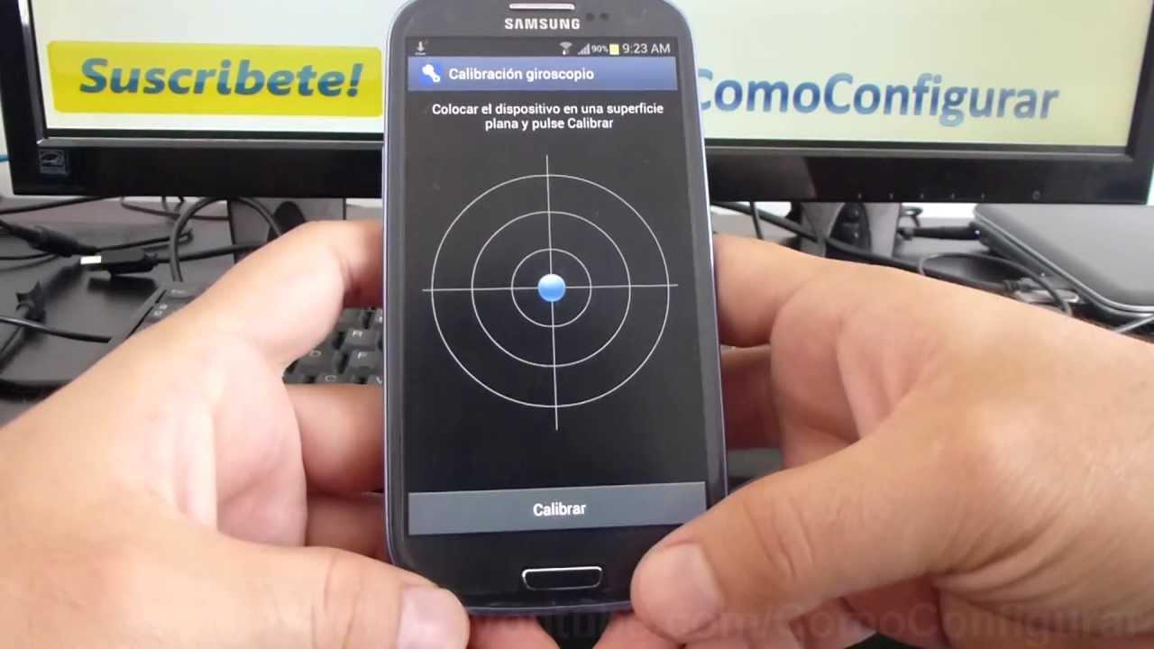 calibrar la brújula de Android
