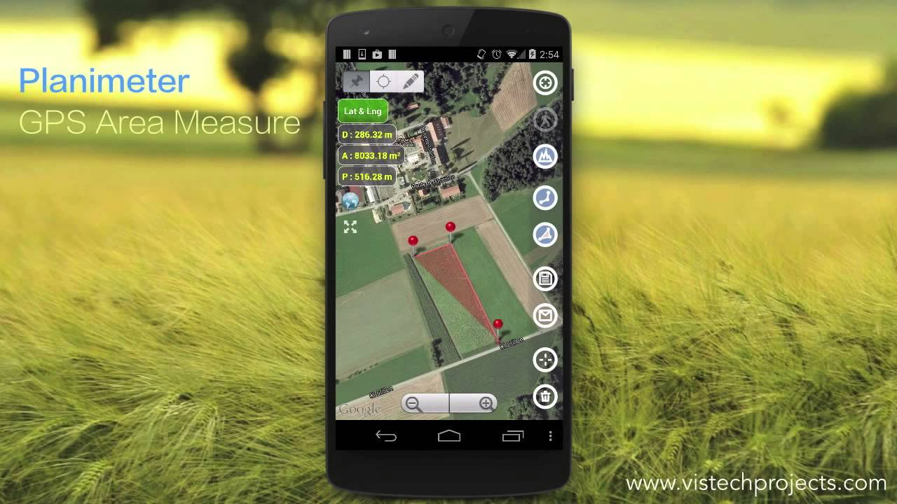 Planimeter GPS.