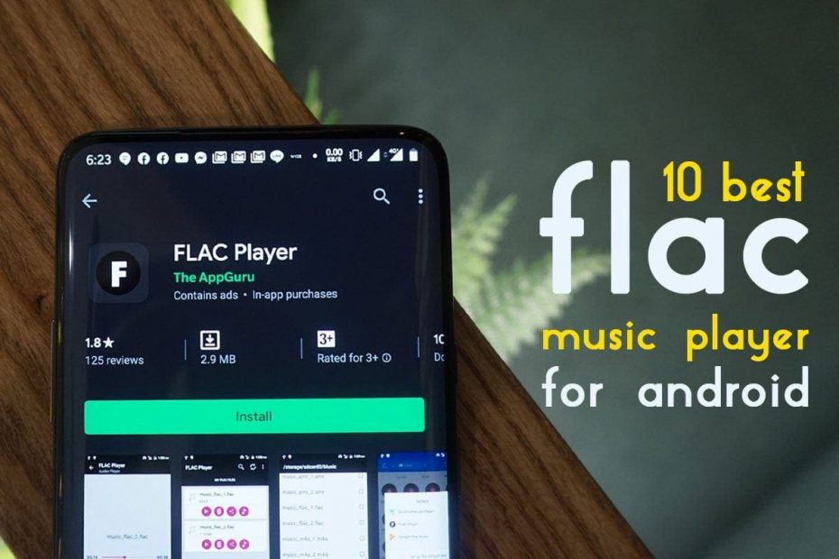 Best flac player android