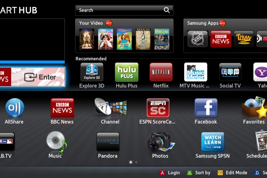 Blim en Smart TV