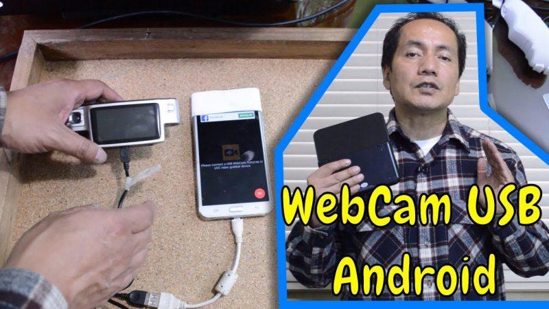 Webcam externa en el dispositivo movil