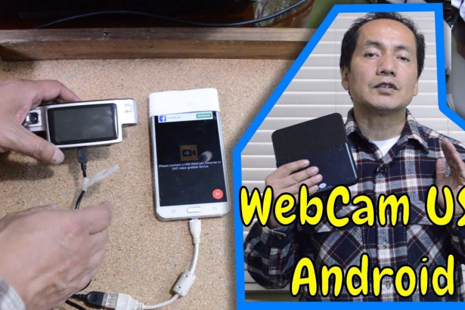 Webcam externa en el dispositivo movil