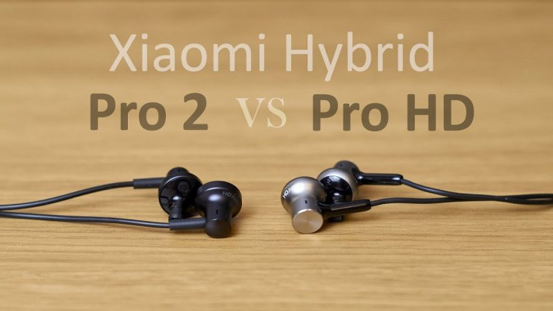 Xiaomi Hybrid vs pro