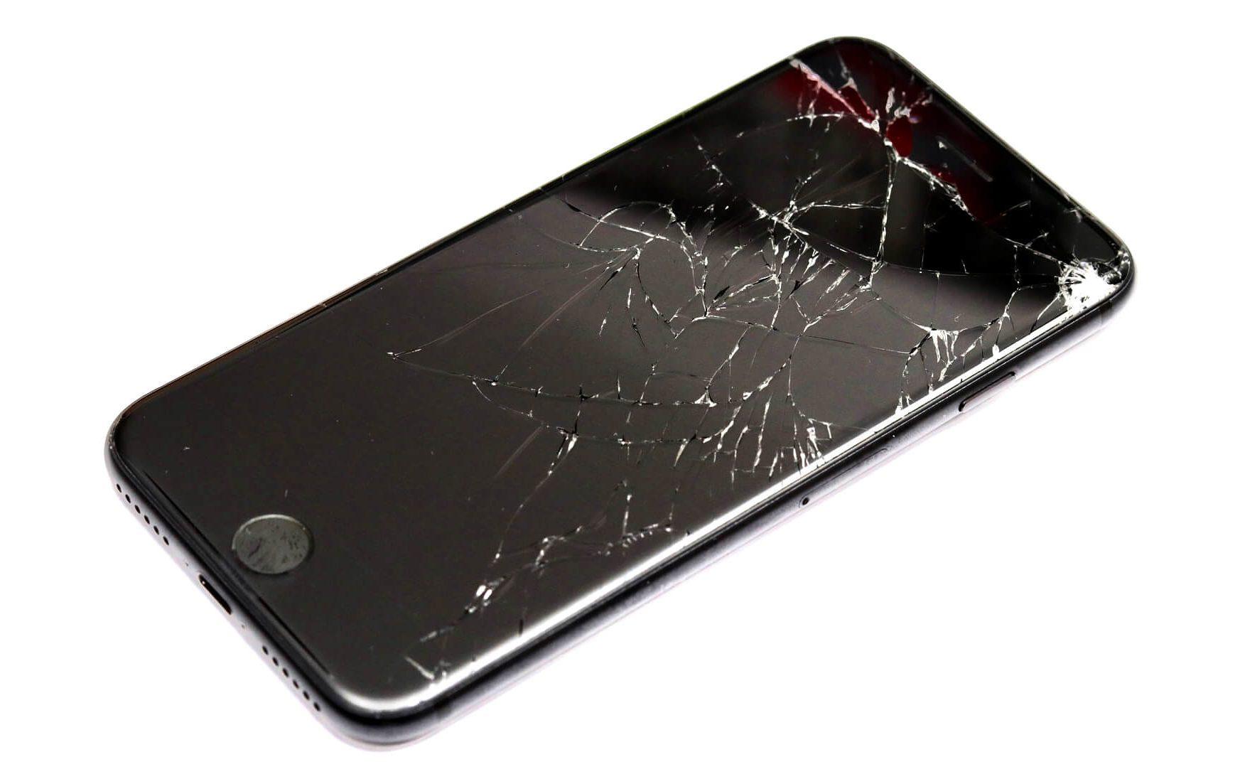 pantalla movil rota iphone android