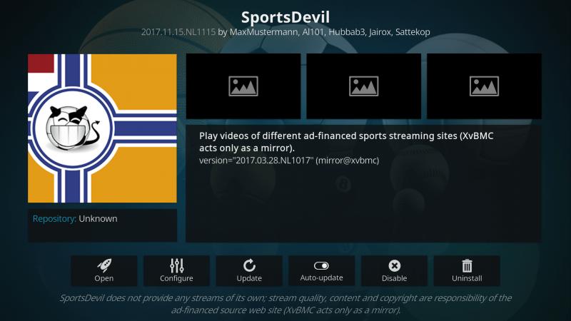 Add On SportsDevil