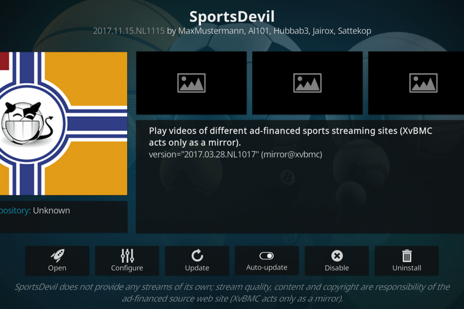 Add On SportsDevil
