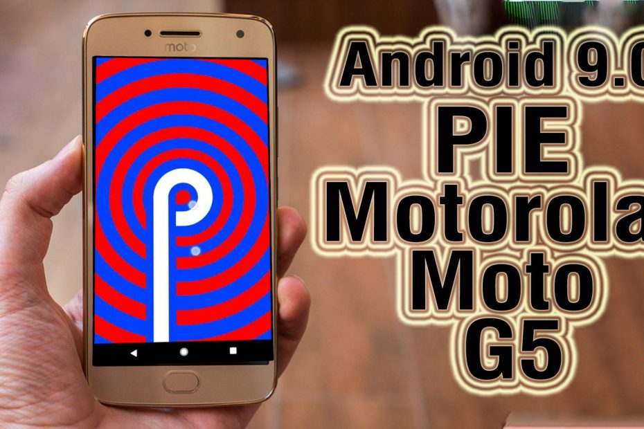 Android Pie en Moto G Plus