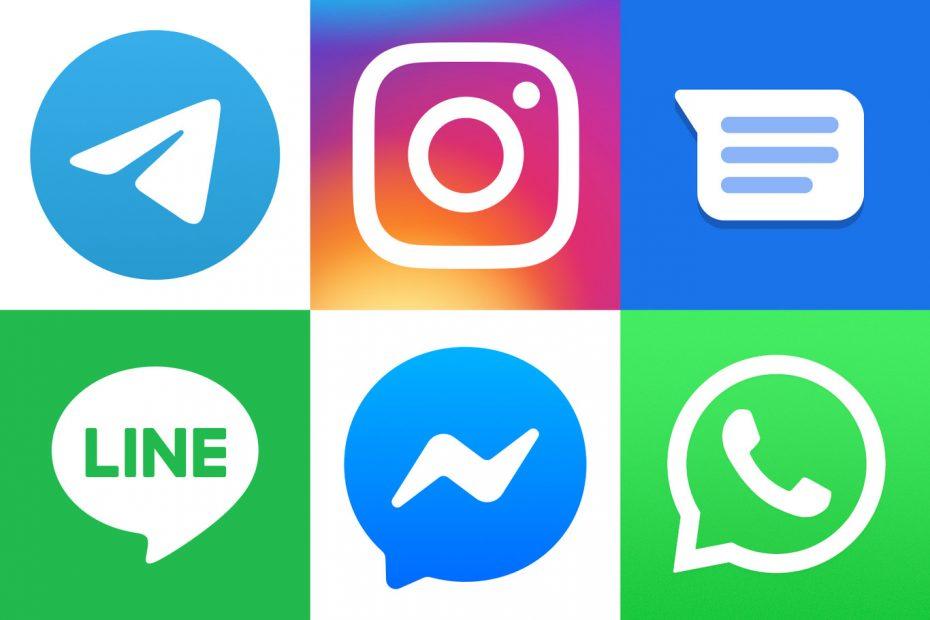 aplicaciones de mensajeria