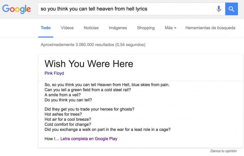buscar letra cancion google