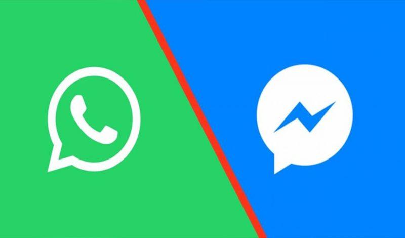 compartir audios de WhatsApp a Messenger